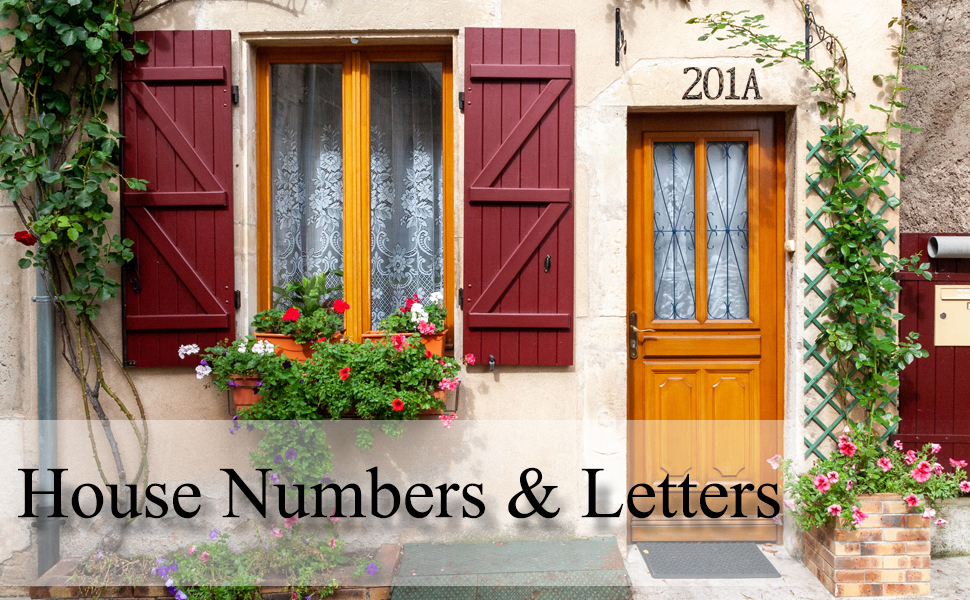 numbers of houses
