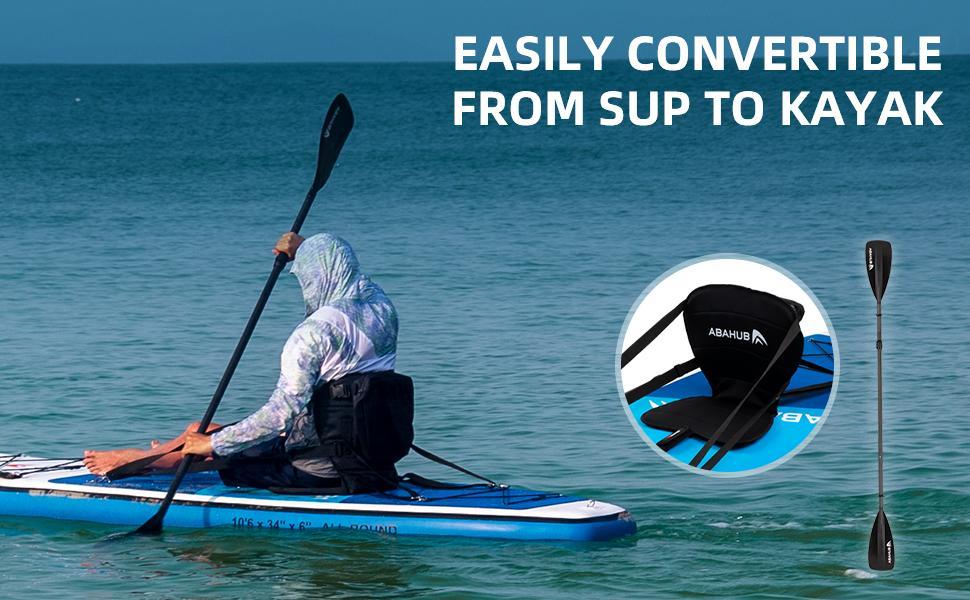 Abahub Inflatable SUP Kayak