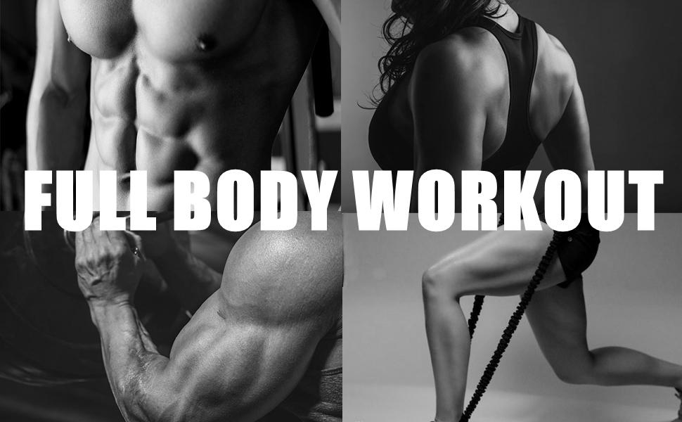 Full Body workout exercise bike