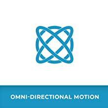 Blue icon for omni-directional motion