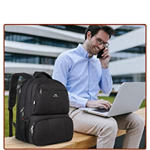Lunch and Laptop Backpack
