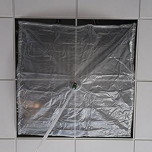 4amp;amp;amp;#39; x 4amp;amp;amp;#39; Self-Bungee Leak Diverter / Kit
