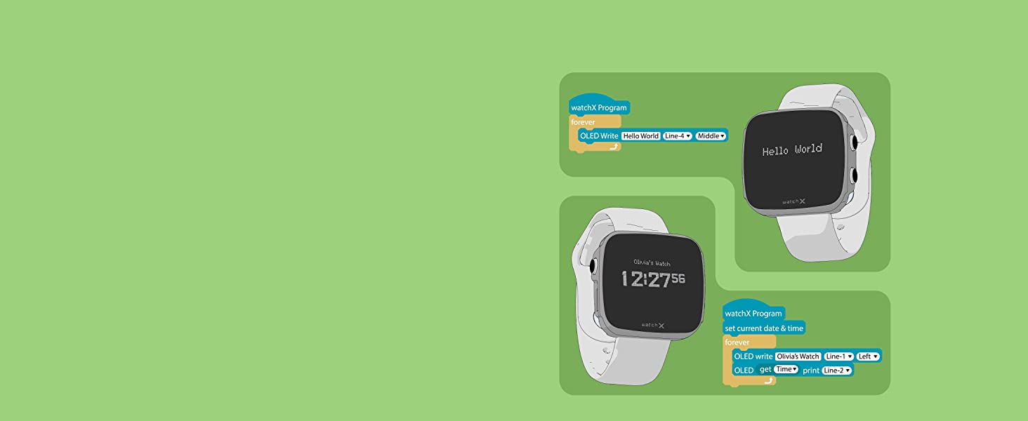 watchX - Code with Scratch