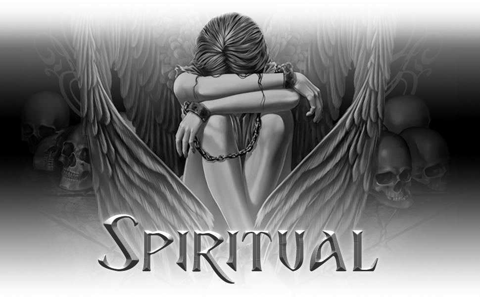 Spiral - Rock Angel - Top Rasgado 2 en 1 - Negro y Blanco
