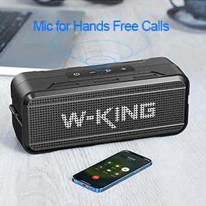 Built-In Mic for Hands-Free Calling