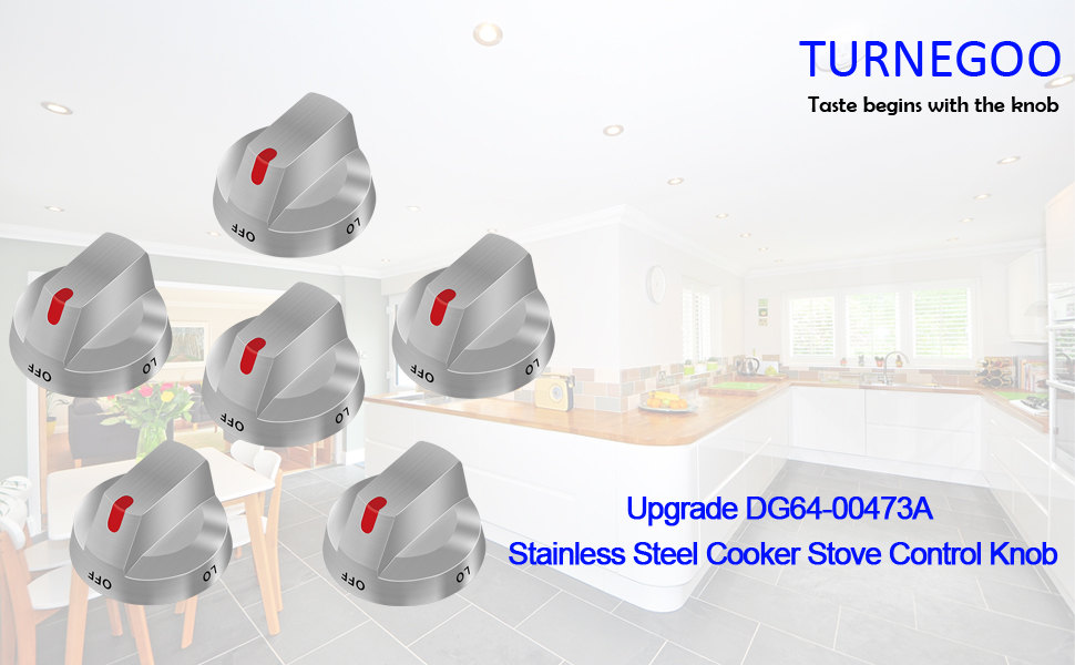 DG64-00473A stove knobs replacement