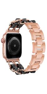 For apple watch Band Classic Elegance Bracelet Rose Gold