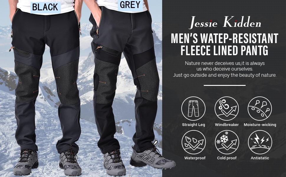 waterproof pants jessie kidden waterproof pants mens snow pants insulated pants men fleece lined