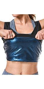gym sauna vest for women