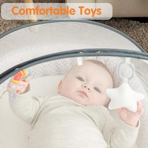 comfortable toys