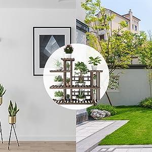Indoor/ Outdoor Plant Shelf