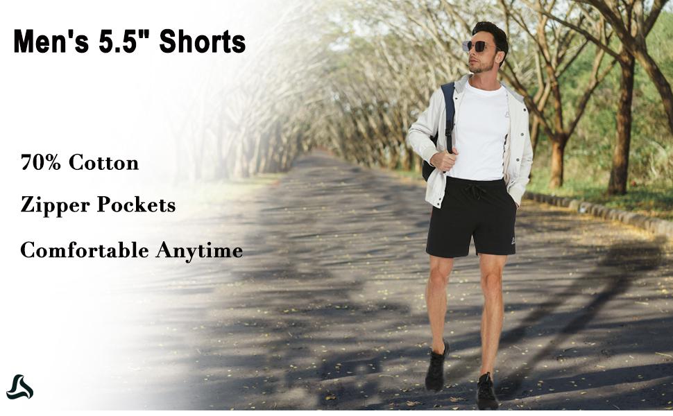 Men's Cotton Sweat Shorts