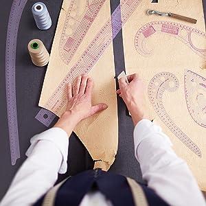 DIY Sewing Ruler