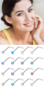 20g Nose Rings Studs
