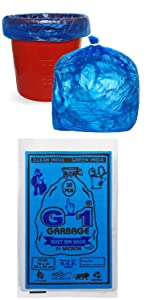 Medium Size Blue Colored Garbage Bags