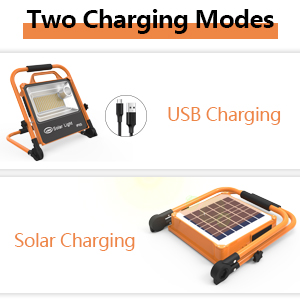work light two charging modes