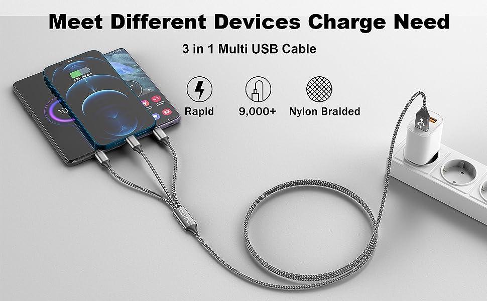Multi USB-kabel