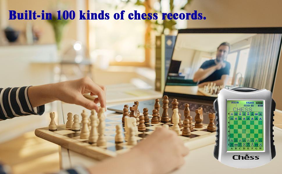 g860 chess 100 record
