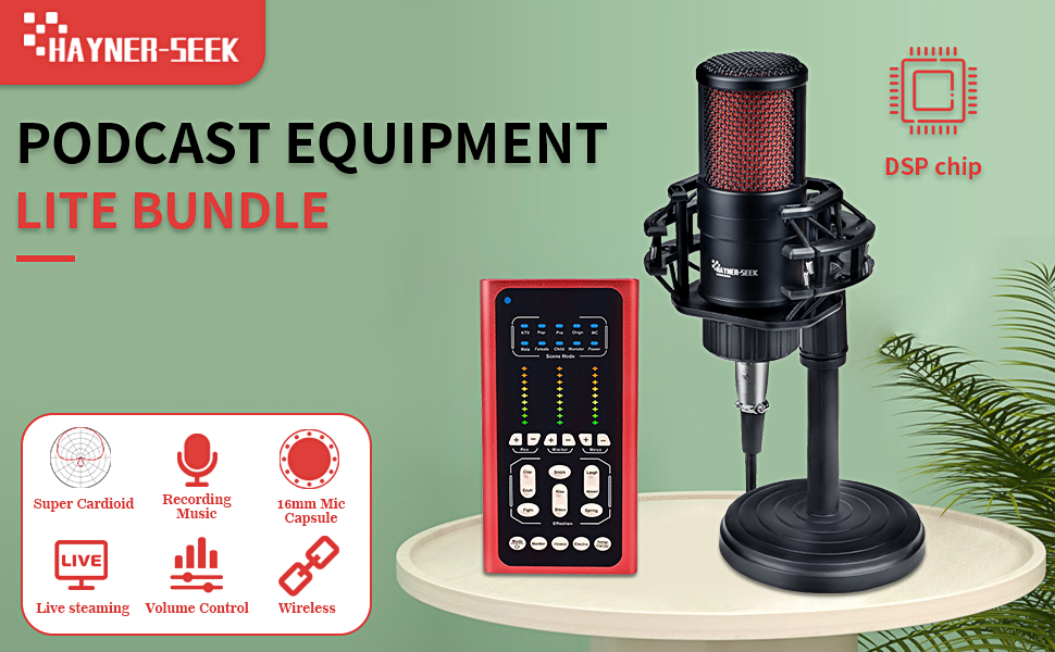 podcast equipment bundle
