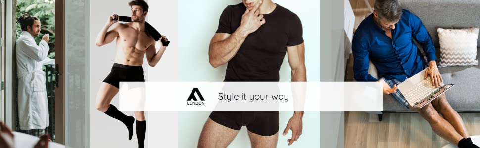 Loose Fit Comfort Boxer Shorts