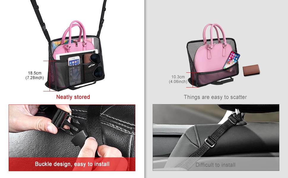 New Upgraded Car Storage Net Bag