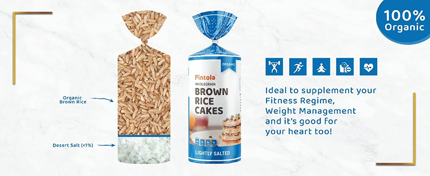 Benefits of Pintola Salted Brown Rice Cake