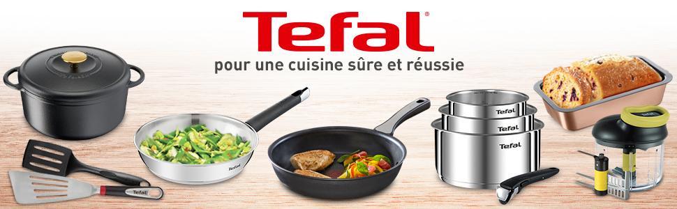 Tefal pour une cuisine sûre et réussie