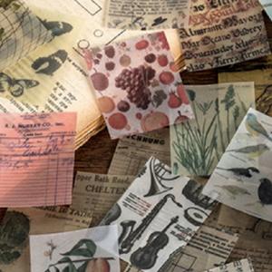 Papier Scrapbook Vintage