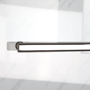 DELAVIN 57-59 in. Semi-Frameless Bypass Shower Door
