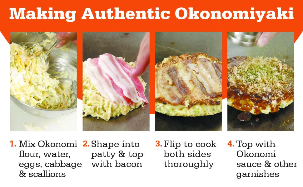 How to make authentic Okonomiyaki