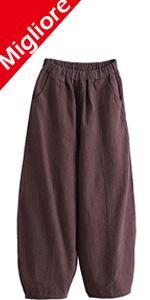 Harem Pantalone Larghi