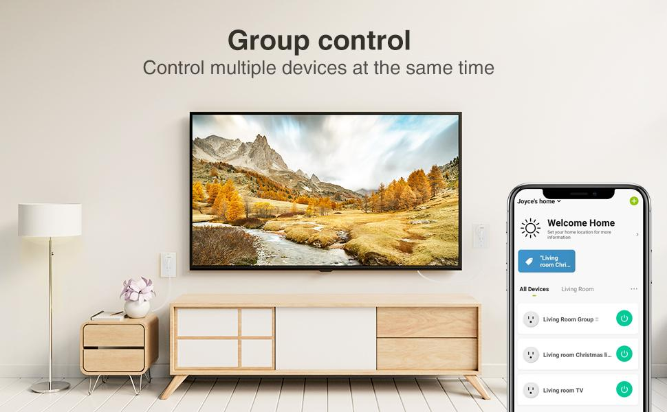 Gosund wifi plug can control your multiple device at the same time