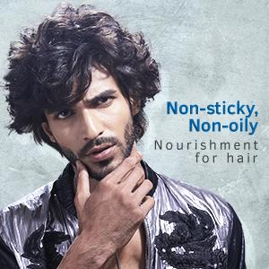 Non-sticky, Non-oily Nourishment for hairs