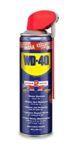 Pidilite WD 40, Multipurpose Smart Straw Spray, Cleaning Agent for Multi Use, degreasing, rust