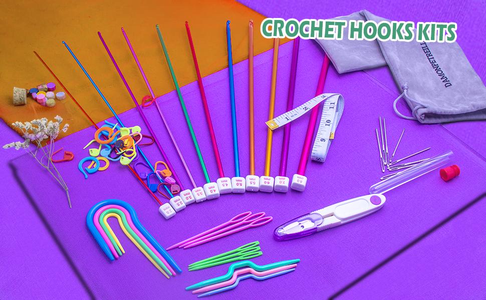crochet hooks kits