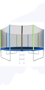 WISHWILL 12 FT Trampoline