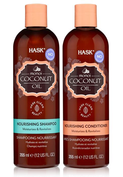 Coconut Monoi Shampoo Conditioner