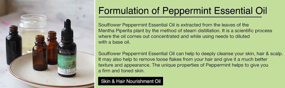 peppermint essential premium 100% pure undiluted natural organic aromatherapy vegan for skin hair