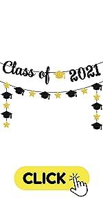 Class of 2021 garland