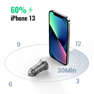 PD Car Charger for iPhone 13