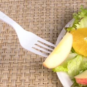 Karat PP Plastic Heavy Weight Forks