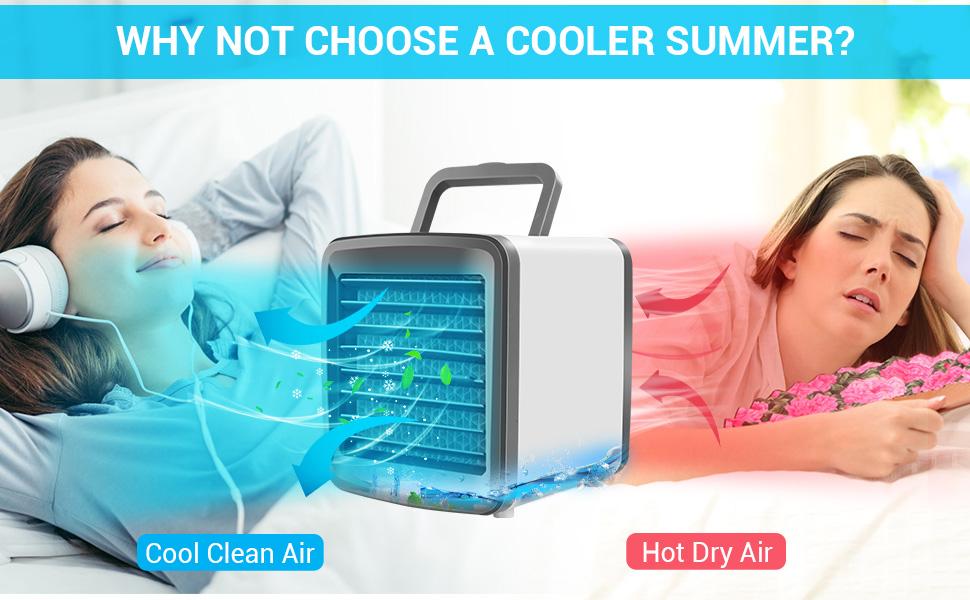 Why not choose a cooler summer?