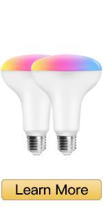 WiFi BR30 FloodLight Bulb