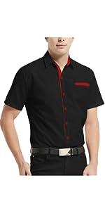 mens casual button down shirt