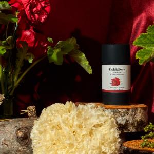 Each and Every Geranium and Snow Mushroom deodorant