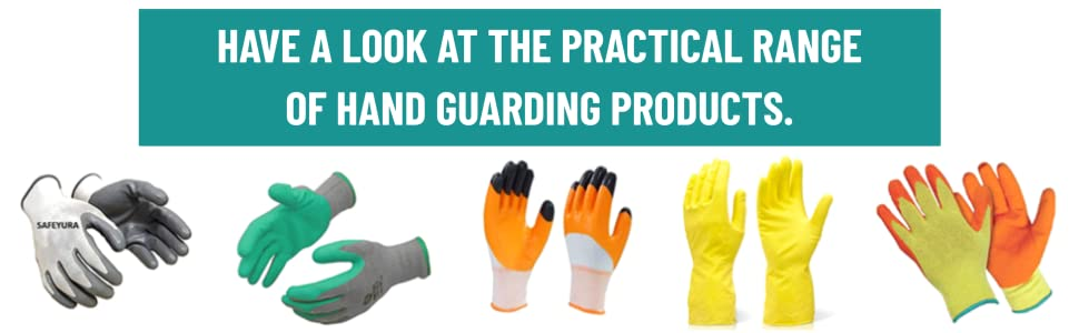 SAFEYURA Garden Gloves with Claws for Gardening, Pruning, Digging and Planting (2 Pairs) SPN-FOR1
