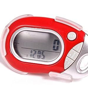 PE771 Red Pedometer