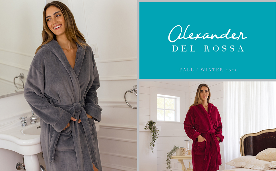 womens robe for fall winter