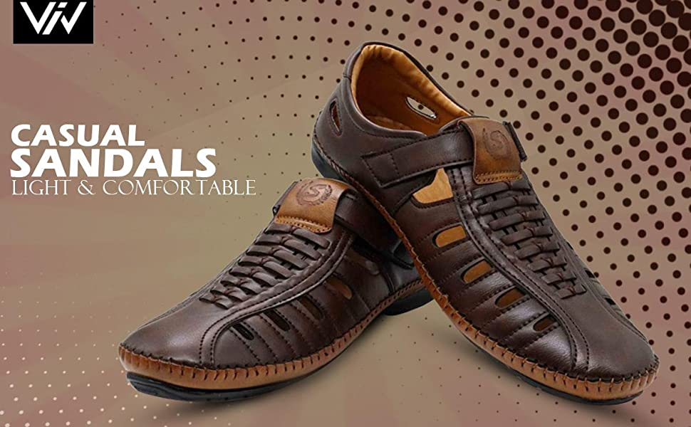 Casual Outdoor Fashion Fisherman Stylish Branded Roman Sandals for man