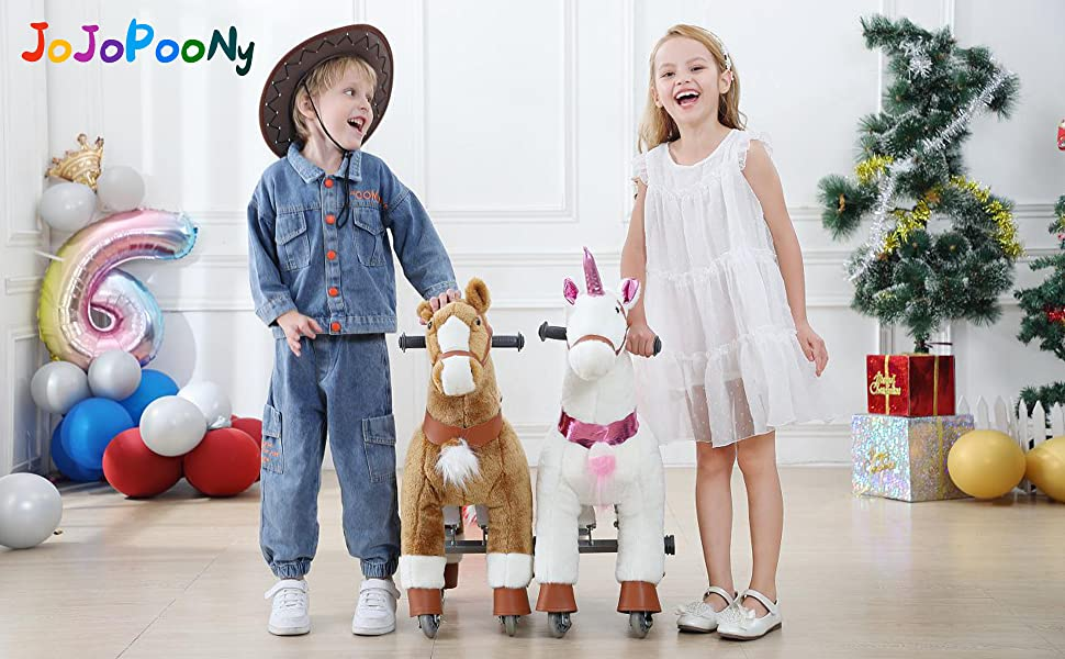 ride on unicorn for girls and boys